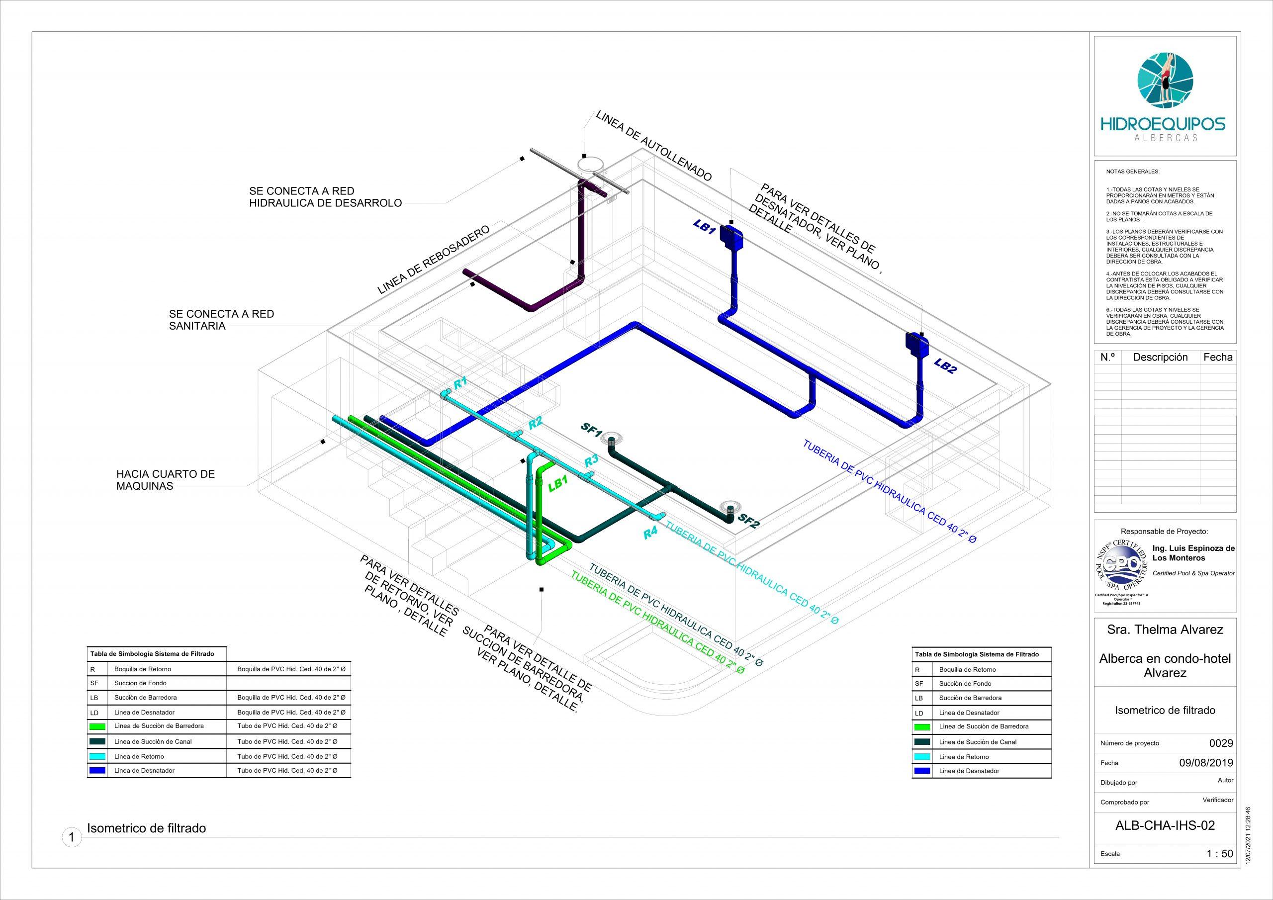 29 – Plano – ALB-CHA-IHS-02 – Isometrico de filtrado